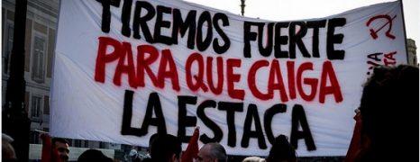 (Vídeo y fotos) Concentración en solidaridad con Catalunya: ¡Madrid está con el pueblocatalán!