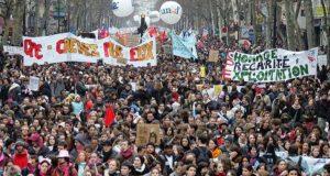 Francia: huelga general contra la reforma laboral