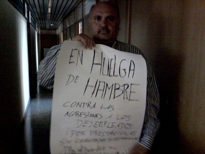 ENCIERRO Y HUELGA DE HAMBRE desde la dignidad de los parados