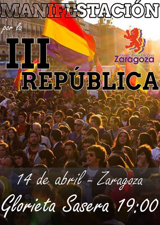 III República. Actos y actividades 14 de abril 2015
