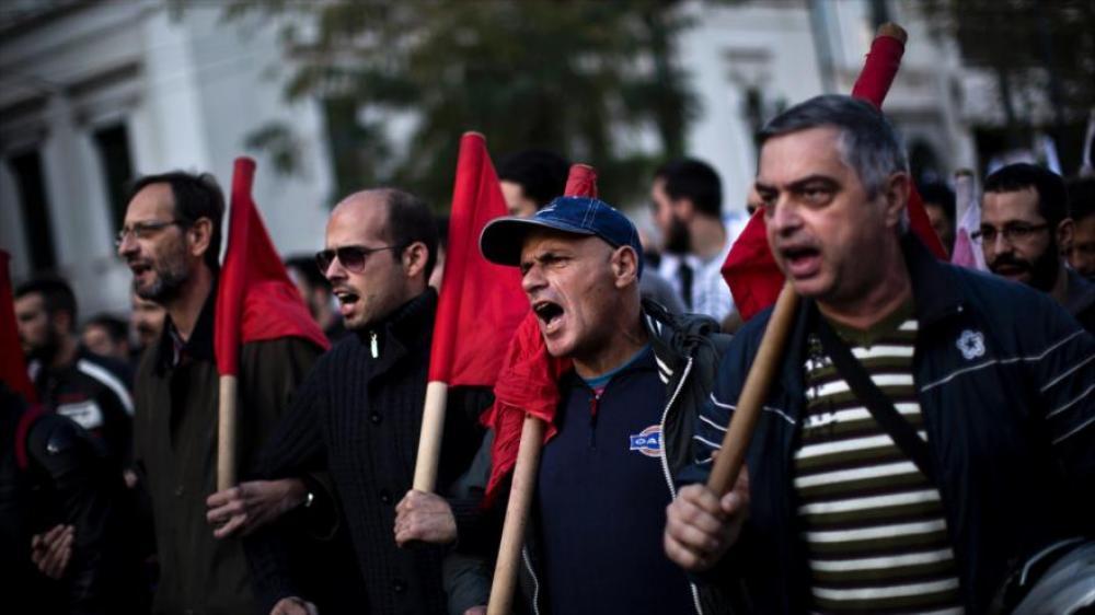 Grecia vive su cuarta huelga general desde que gobierna Syriza