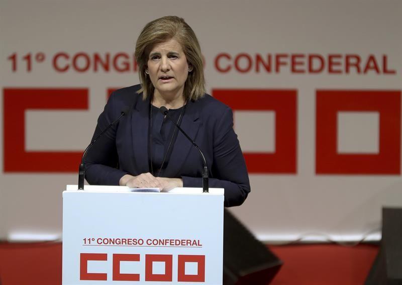 Fátima Bañez clausura el XI congreso de CC.OO