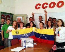 CC.OO. cómplice del fascismo venezolano