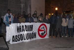 El agente denunciante no se presenta en el juicio contra Khadim