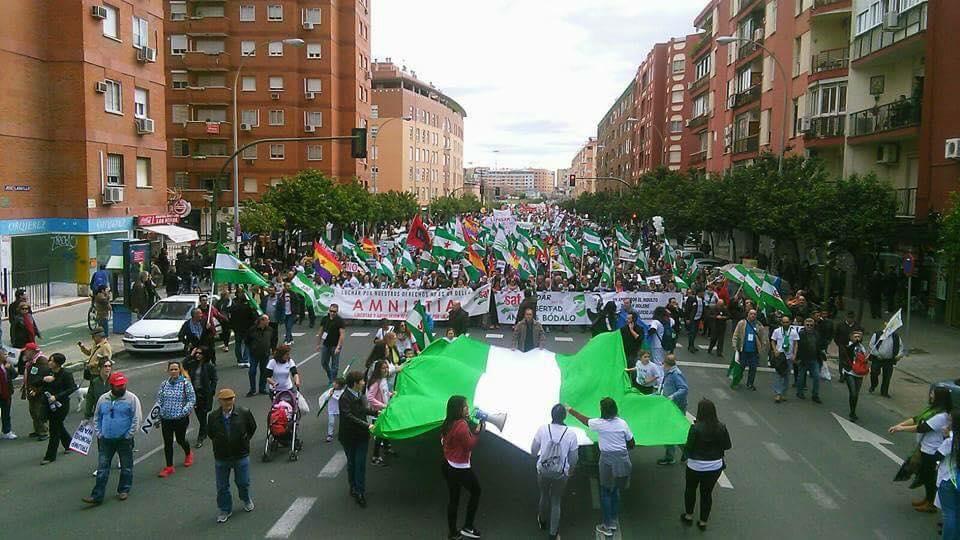 LA ANDALUCÍA QUE NO SE RESIGNA Y QUE LUCHA, ¡A LA CALLE EL 28F! Marchas de la Dignidad.