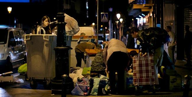 El negocio del hambre en España