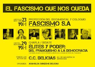Jornadas El Fascismo que nos Queda