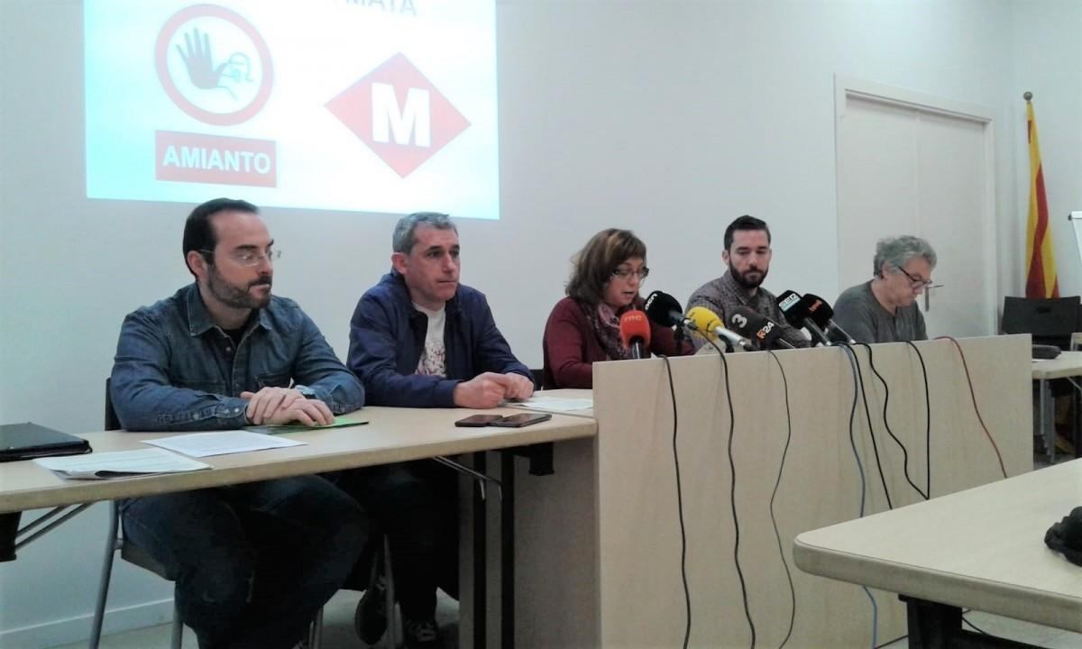 Hallan amianto en ex empleado metro Barcelona, muerto por enfermedad respiratoria