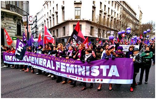 Por un 8 de Marzo feminista de clase y combativo