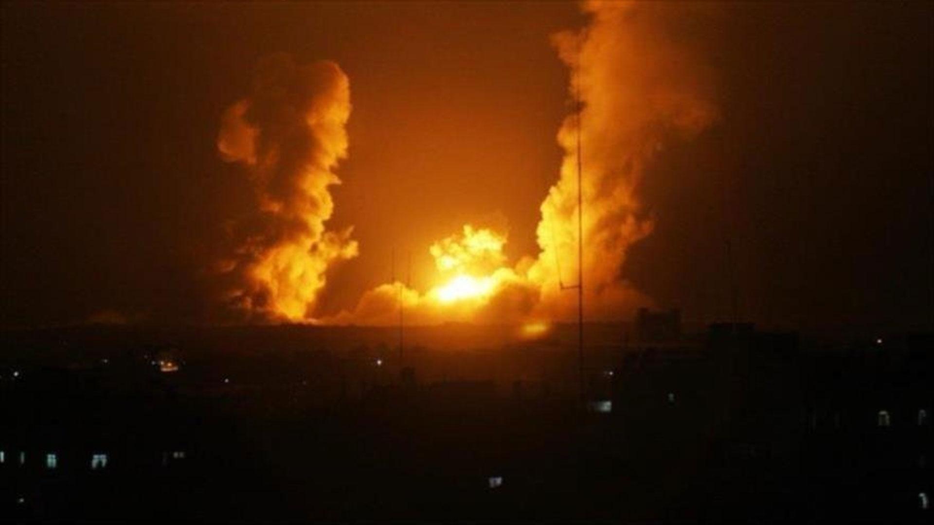 Aviación israelí ha vuelto a bombardear la Franja de Gaza