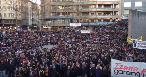 3 de marzo. Miles de personas recordaron la ejecución de 5 trabajadores por la policía