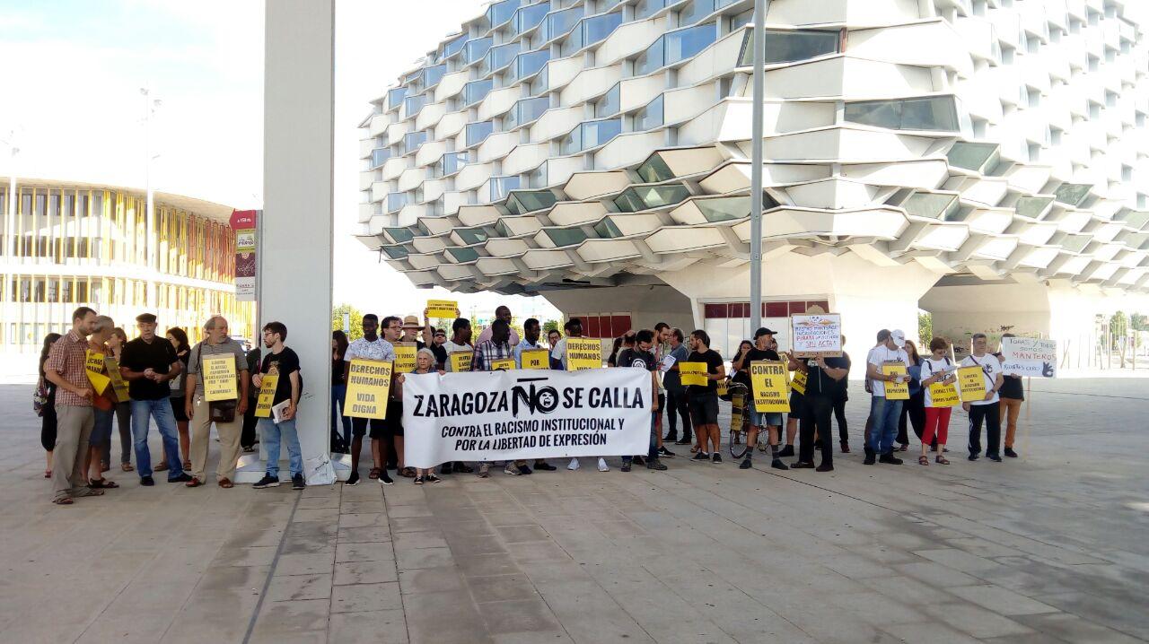Una querella por perfil étnico en Zaragoza
