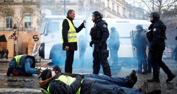 FRANCIA. Miles de chalecos amarillos vuelven a tomar las calles; hay decenas de detenidos