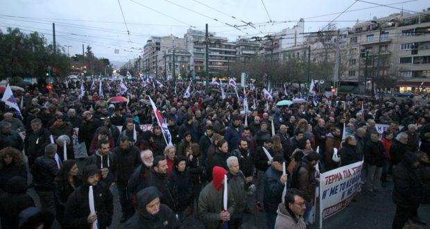 GRECIA. Movilización obrera contra la mafia sindical