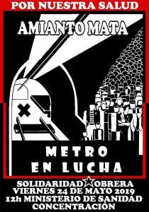 (Audio) [Metro de Madrid – Huelga y concentración] Entrevista a Antonio Rus delegado de Prevención de Solidaridad Obrera