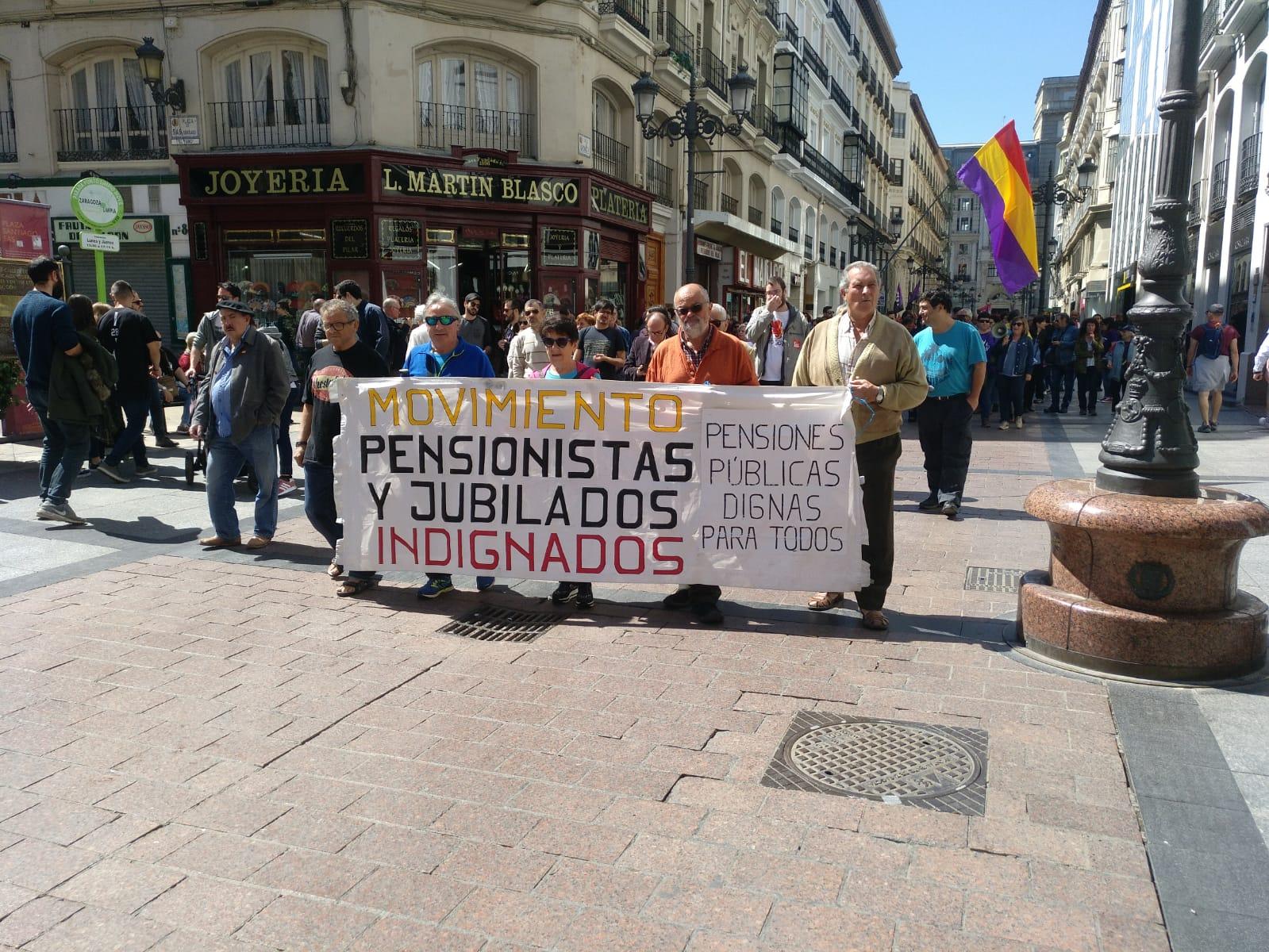 Carta del Movimiento de Pensionistas dirigida a Pedro Sánchez con motivo de su prevista visita a Bilbao