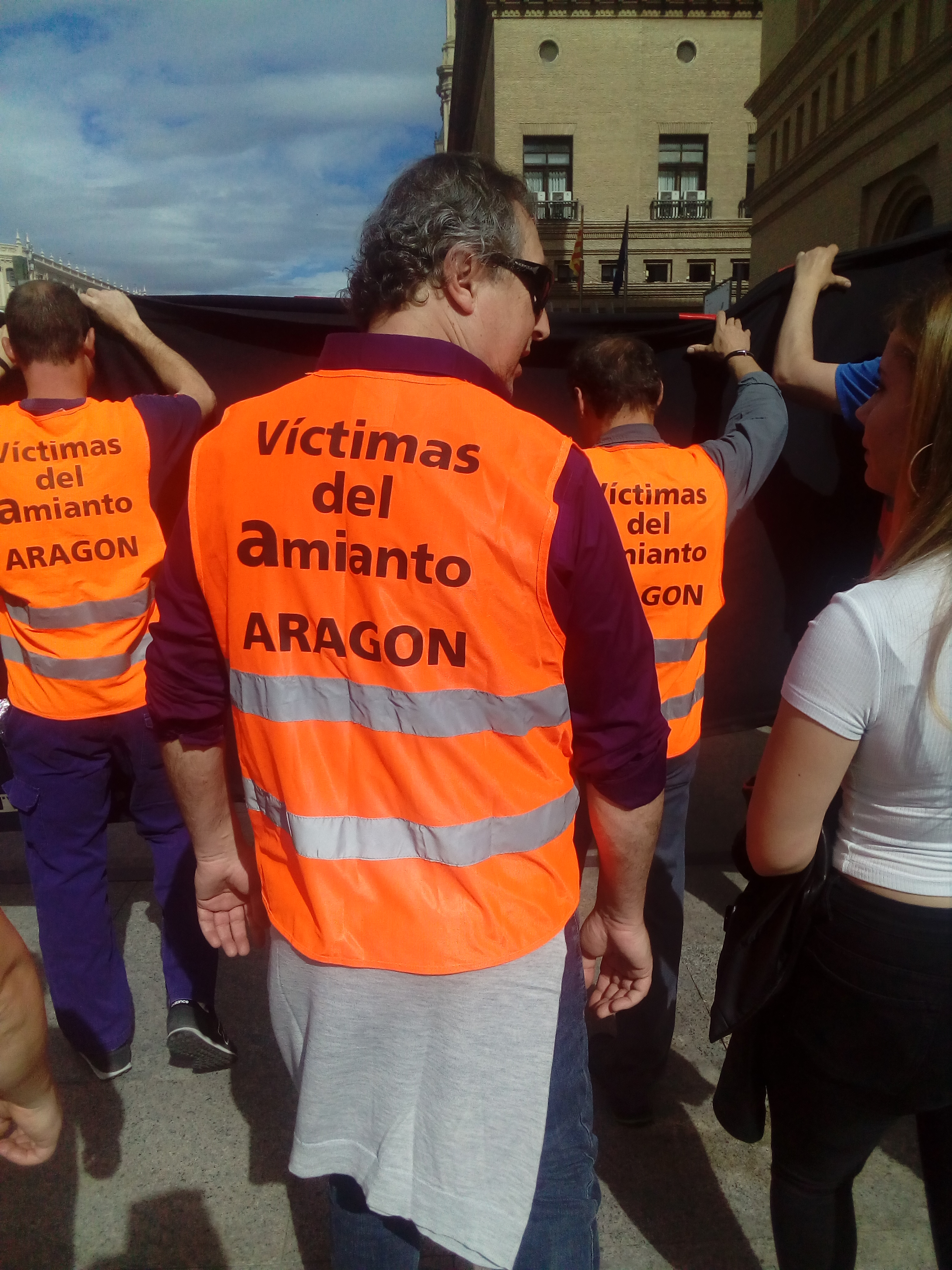 Amianto. Entrevista a trabajadores de CAF Zaragoza