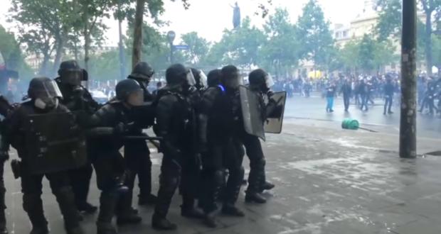 FRANCIA. Protesta 28 de los chalecos amarillos, hubo 64 detenidos