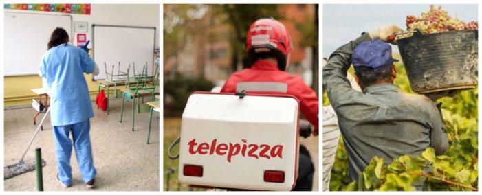 No es solo Telepizza, la patronal paga por debajo del SMI en cientos de empresas