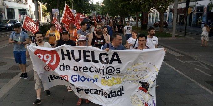 Rotundo éxito de la segunda huelga en QSR (Telepizza) Zaragoza: 70-75% de acatamiento
