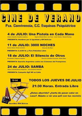 Cine de Verano Delicias 2019