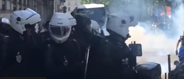 FRANCIA. Represión con gas pimienta; el viernes contra ecologistas, el sábado contra los chalecos amarillos