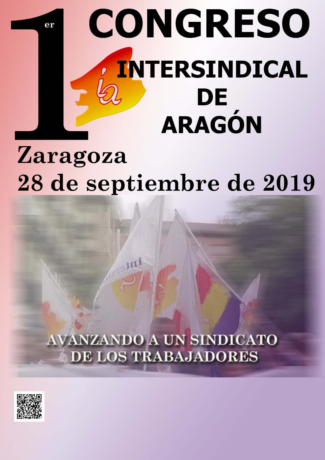 1º CONGRESO-2019. INTERSINDICAL DE ARAGON