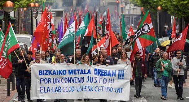 La Huelga del Metal en Bizkaia, un ejemplo de lucha y unidad