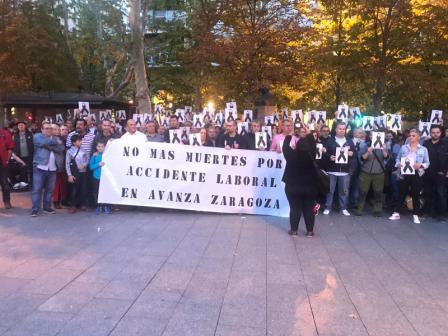 No más muertes por accidente laboral en Avanza Zaragoza