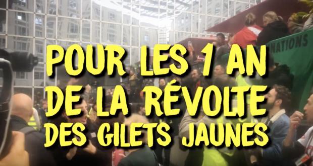 Video convocatoria de los Chalecos Amarillos en Francia tras un año de luchas. ¡viva el internacionalismo!