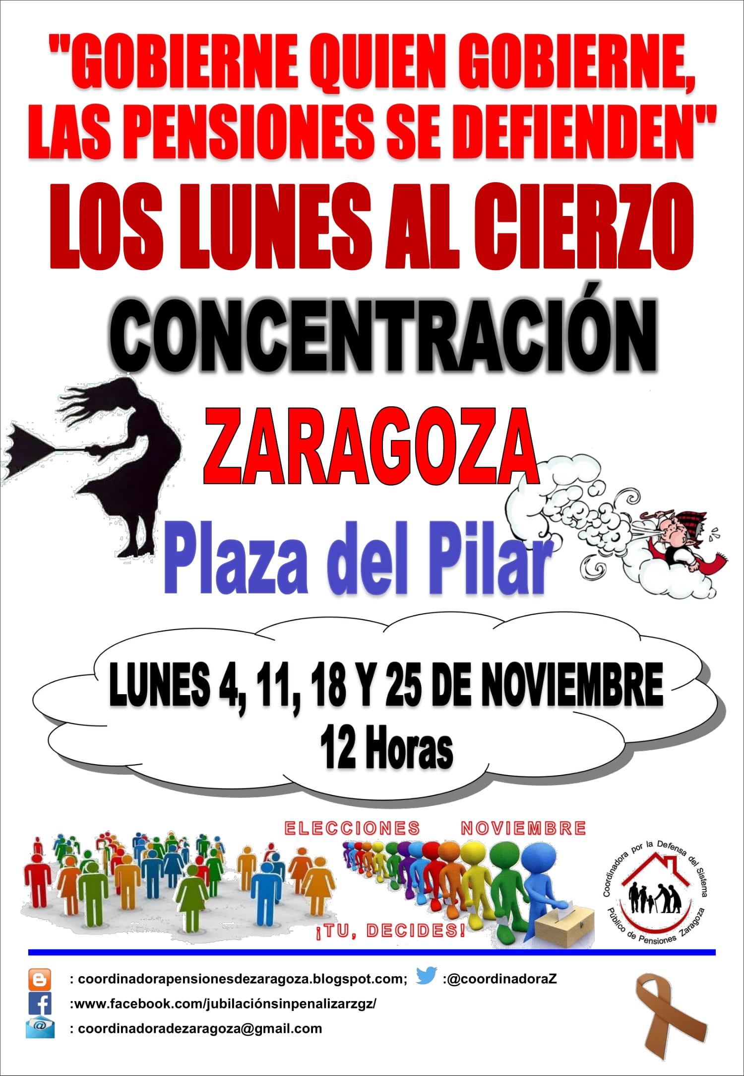 En Noviembre votemos en calles y plazas por nuestra tabla reivindicativa