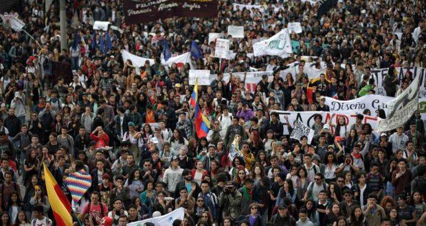 COLOMBIA vivirá una Huelga general histórica