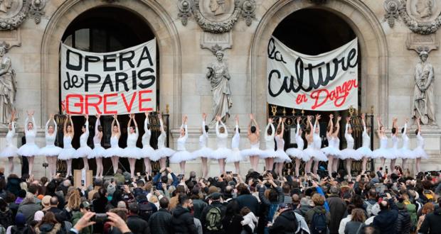 Los artistas de la Ópera de París se adhieren a la huelga (Video). La clase obrera no se rinde. Ultimas noticias de las huelgas generales en Francia