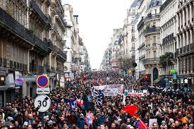 FRANCIA no se calla, cientos de miles se manifiestan contra la reforma del gobierno