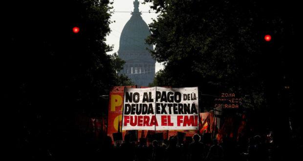 ARGENTINA. Protestas en Argentina contra el pago de la deuda y el FMI  13/02/2020