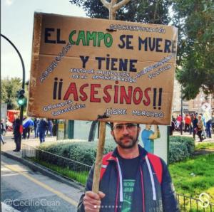 Videos. La REALIDAD que hay detrás de las protestas de agricultores en España.
