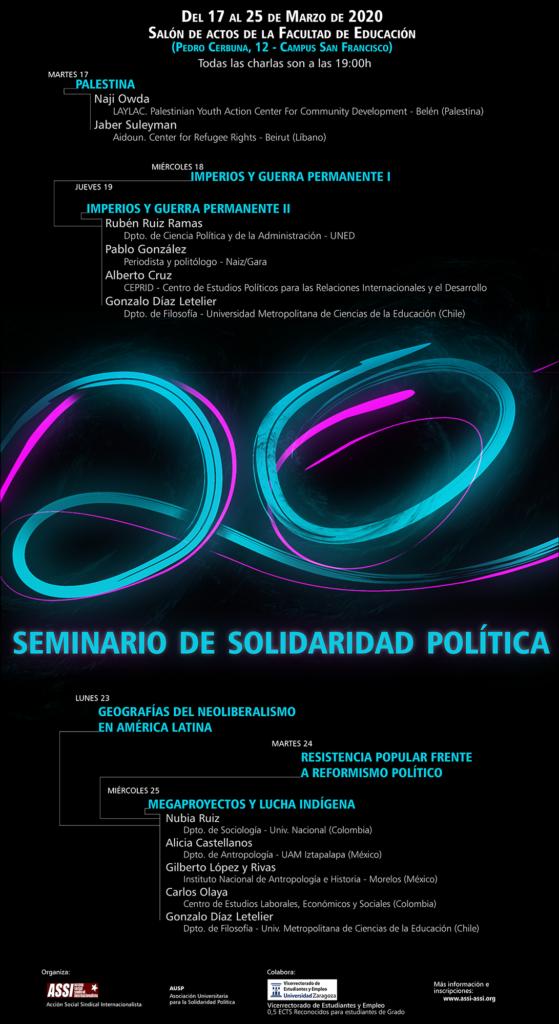 XX Seminario de Solidaridad Política