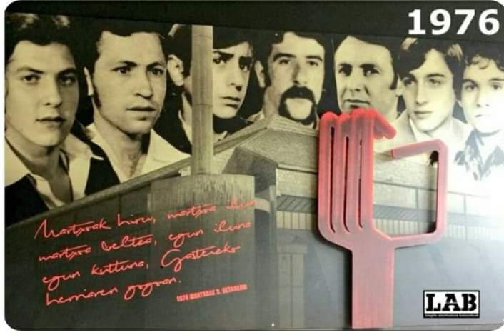 44 años de la matanza de Vitoria, continúa la impunidad, garantizada por la clase dominante y sus servidores. Fotos y Videos