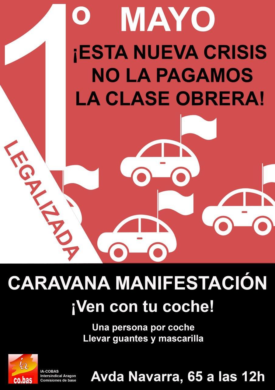 Manifestación 1º de Mayo ¡¡LEGALIZADA!! Documento acreditativo para participar.