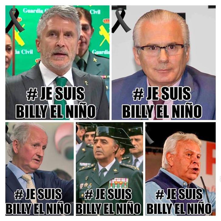 «BILLY» NO ESTABA SOLO (SU IMPUNIDAD TAMPOCO)