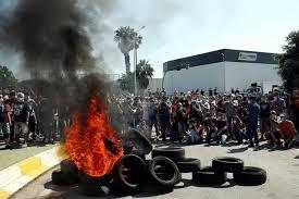 Videos. Jornada de lucha de los trabajadores de Nissan ante la noticia de 3.000 despidos