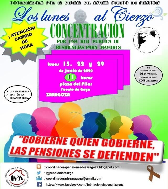 Video. Lunes al Cierzo, 11:00 h. Gobierne quien gobierne las pensiones se defienden.