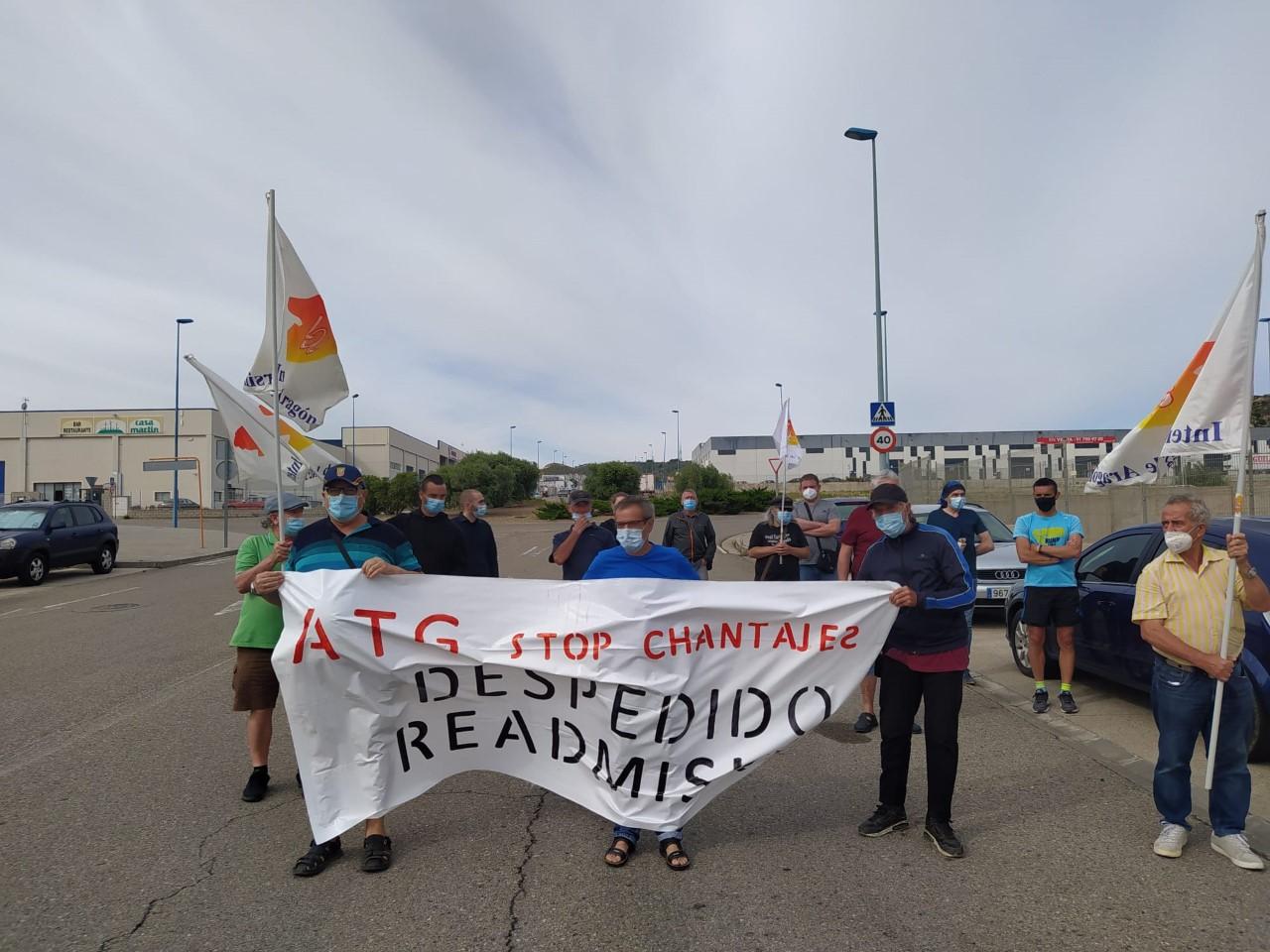 ¡¡ Despedido, Readmisión!! ¿ATG chantajea a los trabajador@s? Video y fotos