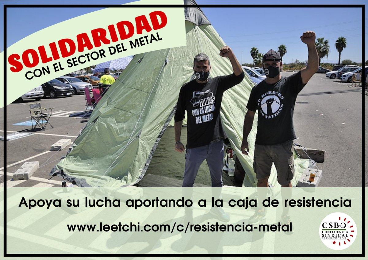 SOLIDARIDAD CON EL SECTOR DEL METAL