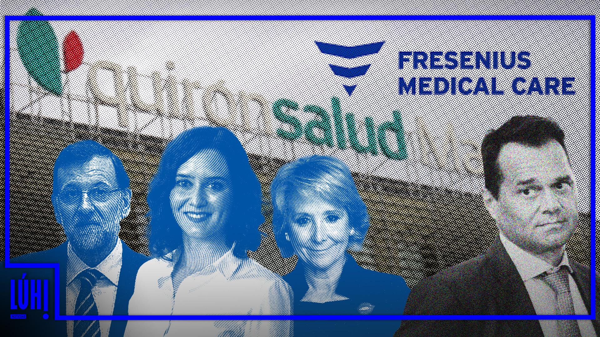"""Fresenius, propietario de Quirón y """"parásito"""" de la sanidad pública española"""