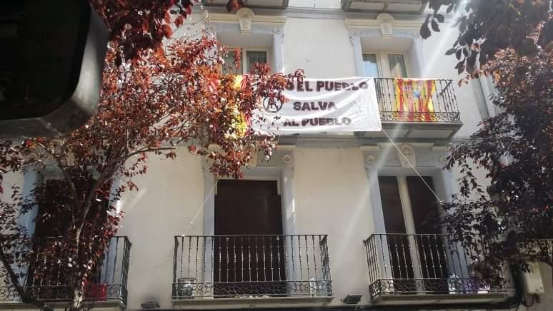 Zaragoza. Desahucio en el Hotel San Valero. ¡Solo el pueblo salva al pueblo!. Fotos y videos.