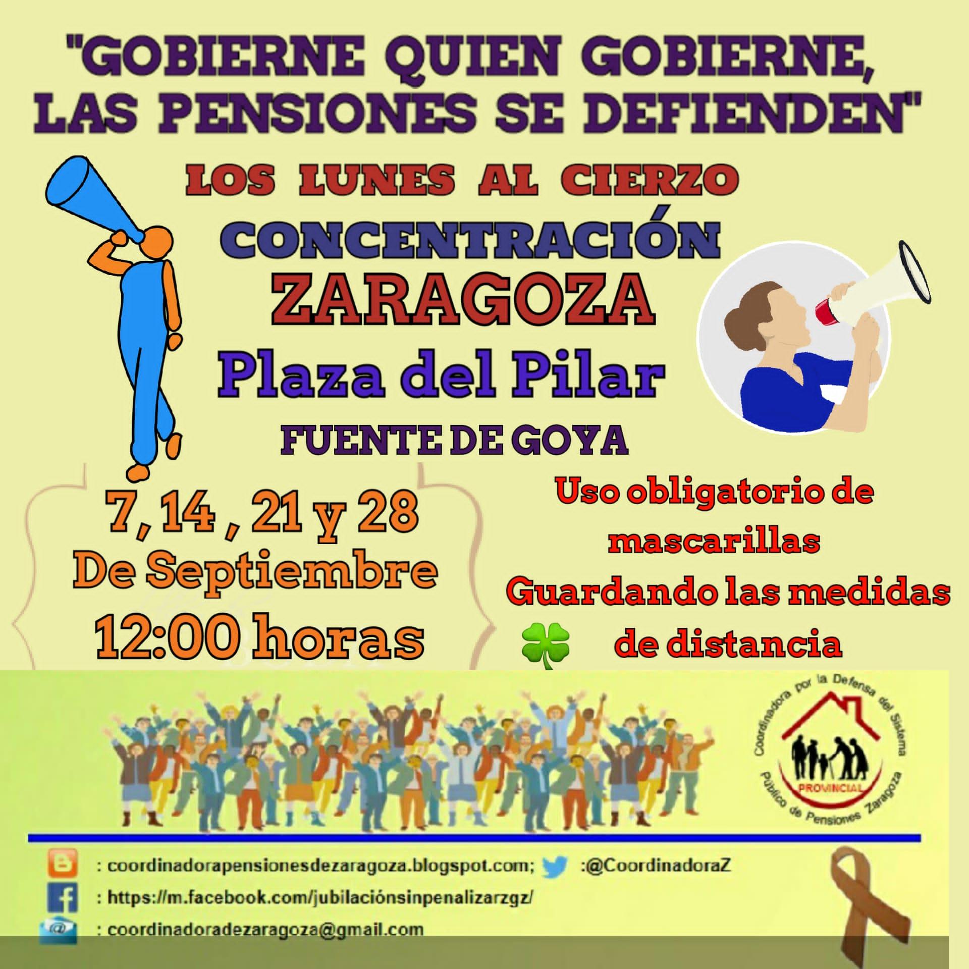Septiembre_Lunes al Cierzo_12:00 h_Plaza del Pilar
