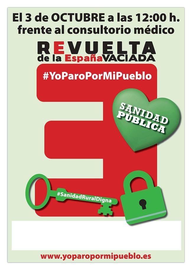 Aragón, sábado 3 Oct. Empiezan las movilizaciones por la sanidad pública (Teruel y Alcañiz)…y seguirán