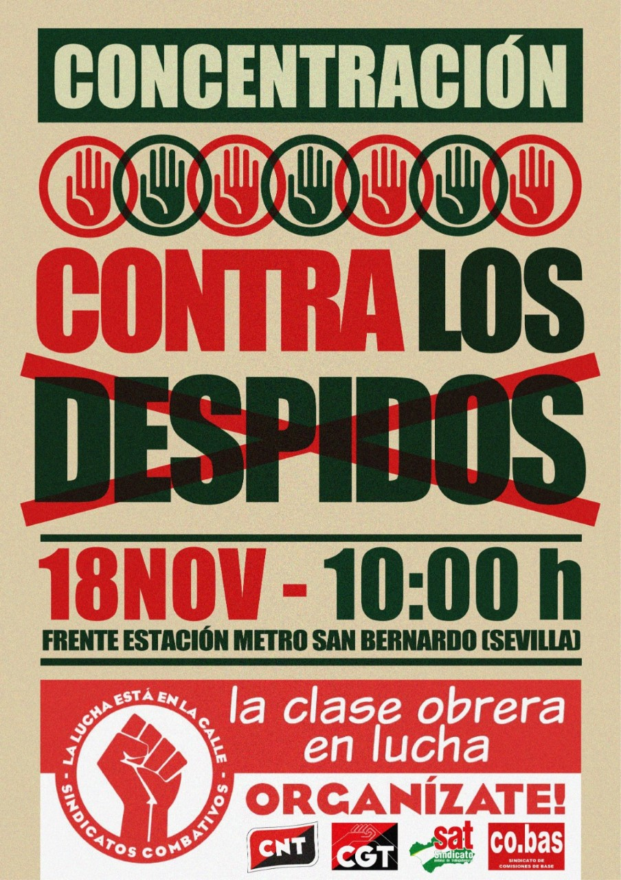 ¡¡La clase obrera en Lucha!! ORGANIZATE.