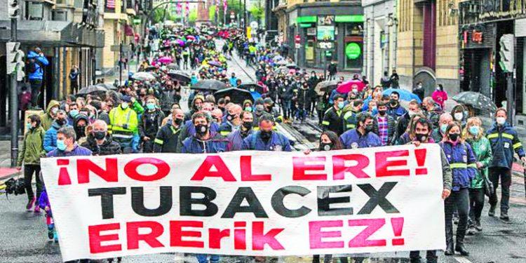 ¿Quién dijo que la lucha no sirve para nada? El TSJPV declara nulos los despidos de lxs trabajadorxs de Tubacex